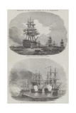 Sketches in the Baltic Fleet Giclee Print by John Wilson Carmichael