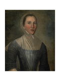 Portrait of Mary Crosswell, 1763 Giclee Print by Joseph Badger