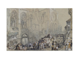 The Church of St Julien Giclee Print by Joseph Mallord William Turner