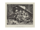 Three Little Kittens Giclee Print by Joseph Clark