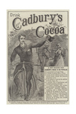 Advertisement, Cadbury's Cocoa Giclee Print by John-bagnold Burgess