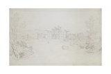 Lowther Castle, 1809 Giclee Print by Joseph Mallord William Turner