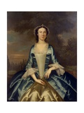 Mrs. William Walton (1708-86), C.1750 Giclee Print by John Wollaston
