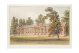 The Orangery or Greenhouse in the Garden of Kensington Palace Giclee Print by John Edmund Buckley
