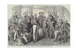 The Heroes of Waterloo Giclee Print by John Prescott Knight