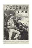 Advertisement, Cadbury's Cocoa Giclee Print by John-bagnold Burgess