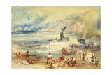 The Whale on Shore, C.1837 Giclee Print by Joseph Mallord William Turner