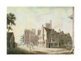 A View of the Archbishop's Palace, Lambeth, 1790 Giclee Print by Joseph Mallord William Turner