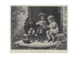 A Feast in View Giclee Print by Joseph Clark