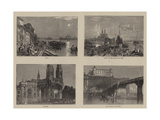 Sketches on the Loire Giclee Print by Joseph Mallord William Turner