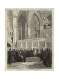 Funeral of His Grace the Duke of Northumberland Giclee Print by John Wykeham Archer