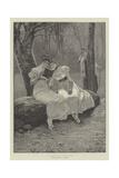 A Thrilling Romance Giclee Print by Jozef Wodzinski