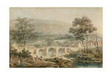 Matlock, 1794 Giclee Print by Joseph Mallord William Turner