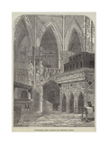 Westminster Abbey, Edward the Confessor's Chapel Giclee Print by John Wykeham Archer