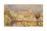Jedburgh Abbey, C.1832 Giclee Print by Joseph Mallord William Turner