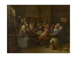 Flemish Tavern Giclee Print by Joos Van craesbeeck