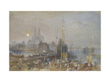 The Canal of the Loire and Cher Giclee Print by Joseph Mallord William Turner