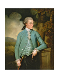 A Portrait of John Mortlock of Cambridge and Abington Hall Giclee Print by John Downman