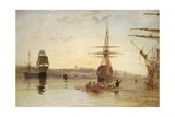 West Cowes Giclee Print by Joseph Mallord William Turner