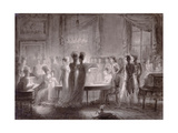 The Sala Meridiana at the Pitti Palace, 1813 Giclee Print by Joseph Franque