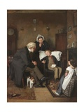 The Sick Boy, C.1857 Giclee Print by Joseph Clark
