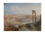 Modern Rome, Campo Vaccino, 1839 Giclée-tryk af Joseph Mallord William Turner