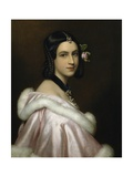 Portrait of Lady Jane Erskine, 1837 Giclee Print by Joseph Karl Stieler