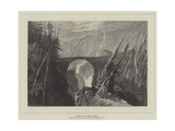 Little Devil's Bridge, Altdorf Giclee Print by Joseph Mallord William Turner