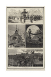 The Funeral of President Garfield, the Lying-In-State at Cleveland, Ohio Giclee Print by Joseph Nash