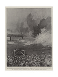 The Pre-Arranged Railway Collision in Texas, the Scene Immediately after the Impact Giclee Print by Joseph Nash