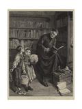 El Dia Del Santo Del Cura Giclee Print by John-bagnold Burgess
