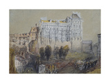 Palace at Blois Giclee Print by Joseph Mallord William Turner