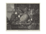 Prize Fruit Grown at Blenheim Giclee Print by John Wykeham Archer