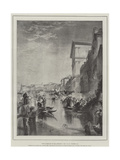 The Marriage of the Adriatic Giclee Print by Joseph Mallord William Turner