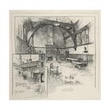 Barnard's Inn in Holborn Giclee Print by Joseph Holland Tringham