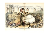 The Opening of the Congressional Session, 1887 Giclee Print by Joseph Keppler