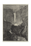 The Fall of the Reichenbach Giclee Print by Joseph Mallord William Turner