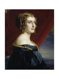 Portrait of Lady Jane Ellenborough, 1831 Giclee Print by Joseph Karl Stieler
