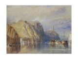 Between Clairmont and Mauves Giclee Print by Joseph Mallord William Turner