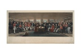 Signing and Sealing of the Treaty of Nanking, 1846 Giclee Print by John Platt