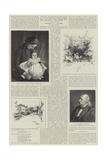 Alfred, Baron Tennyson, Poet Laureate Giclee Print by Joseph Holland Tringham