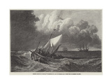 Fishing-Boats in Squall Giclee Print by Joseph Mallord William Turner