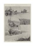 The War, Field Telegraphy Giclee Print by Joseph Holland Tringham
