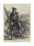 The Civil War in Spain, a Carlist Volunteer Giclee Print by Jose Galofre Y Coma