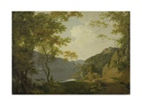 Lake Scene, 1790 Giclee Print by Joseph Wright of Derby