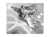 The Fourth Day of Creation, 1794 Giclee Print by Julius Schnorr von Carolsfeld