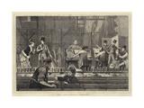 A New Opera, Undress Rehearsal Giclee Print by Joseph Nash
