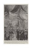 The Imperial Standard Being Brought into the Cathedral Giclee Print by Joseph Nash