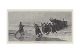 Toilers of the Sea Giclee Print by Julius Mandes Price