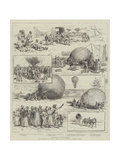 Ballooning in Bechuanaland Giclee Print by Julius Mandes Price